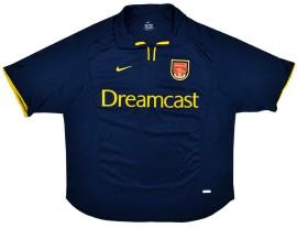 Arsenal 3e Shirt 2000/02 Retro