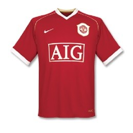 Manchester United Thuis Shirt 2006/07 Retro