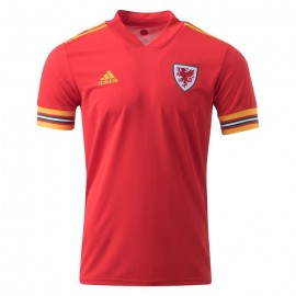 Wales Thuis Voetbalshirt 20/21