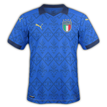 Italie Thuis Voetbalshirt