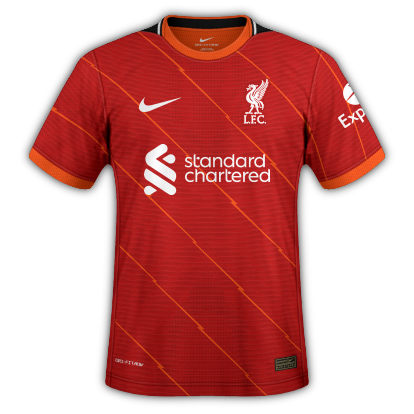 Liverpool Thuis Voetbalshirt