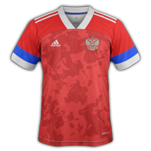 Rusland Thuis Voetbalshirt